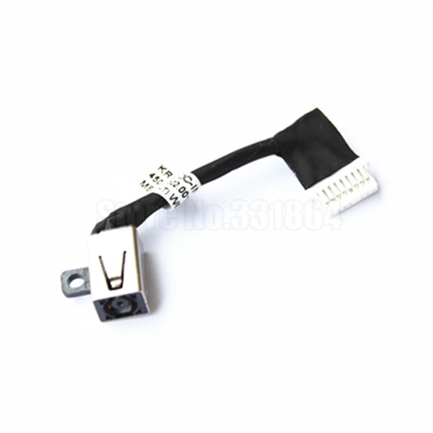 Enchufe de Cable de alimentación AC DC para DELL Inspiron 7370 I7370 7373 I7373
