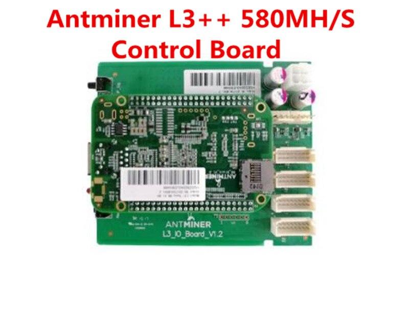 ANTMINER L3 ++ لوحة تحكم تشمل IO مجلس و BB مجلس استبدال لوحة سيئة ل ANTMINER L3 ++ 580mh/S