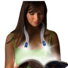 Neueste Flexible Freisprecheinrichtung Led Neck Licht Luz LED cuello Umarmung licht Buch Lesen Lampe Umarmung Licht Neuheit Led Nacht Licht taschenlampe