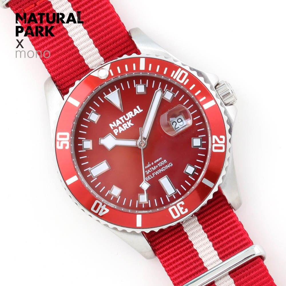 ساعات كوارتز للرجال ، أحمر ، علامة تجارية فاخرة ، أزياء غير رسمية ، ساعات رجالية