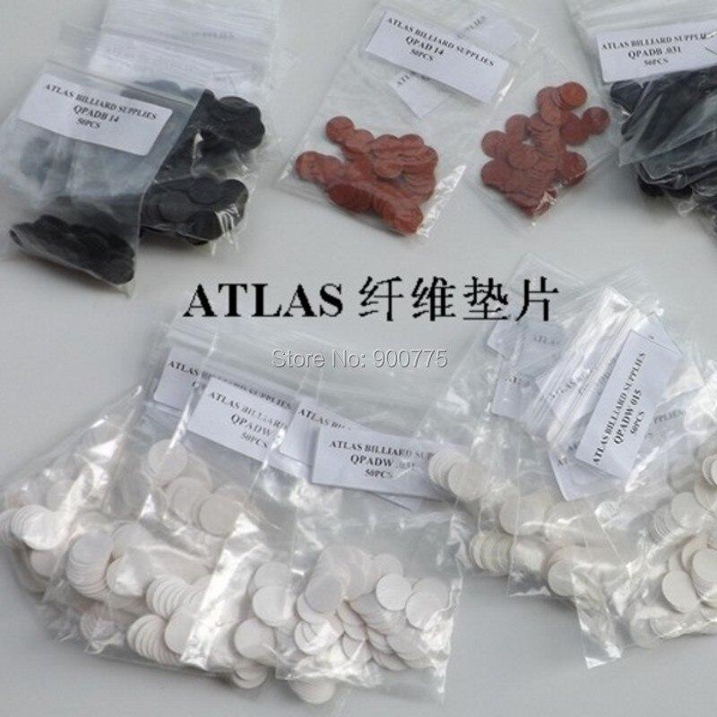 Almohadillas de fibra ATLAS/accesorios de varilla de billar para proteger la virola importada americana