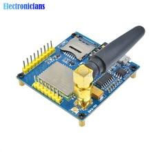 1 ensemble A6 GSM GPRS Module TTL/RS232 carte de développement de base série avec antenne GPRS texte Transmission de données sans fil remplacer SIM900
