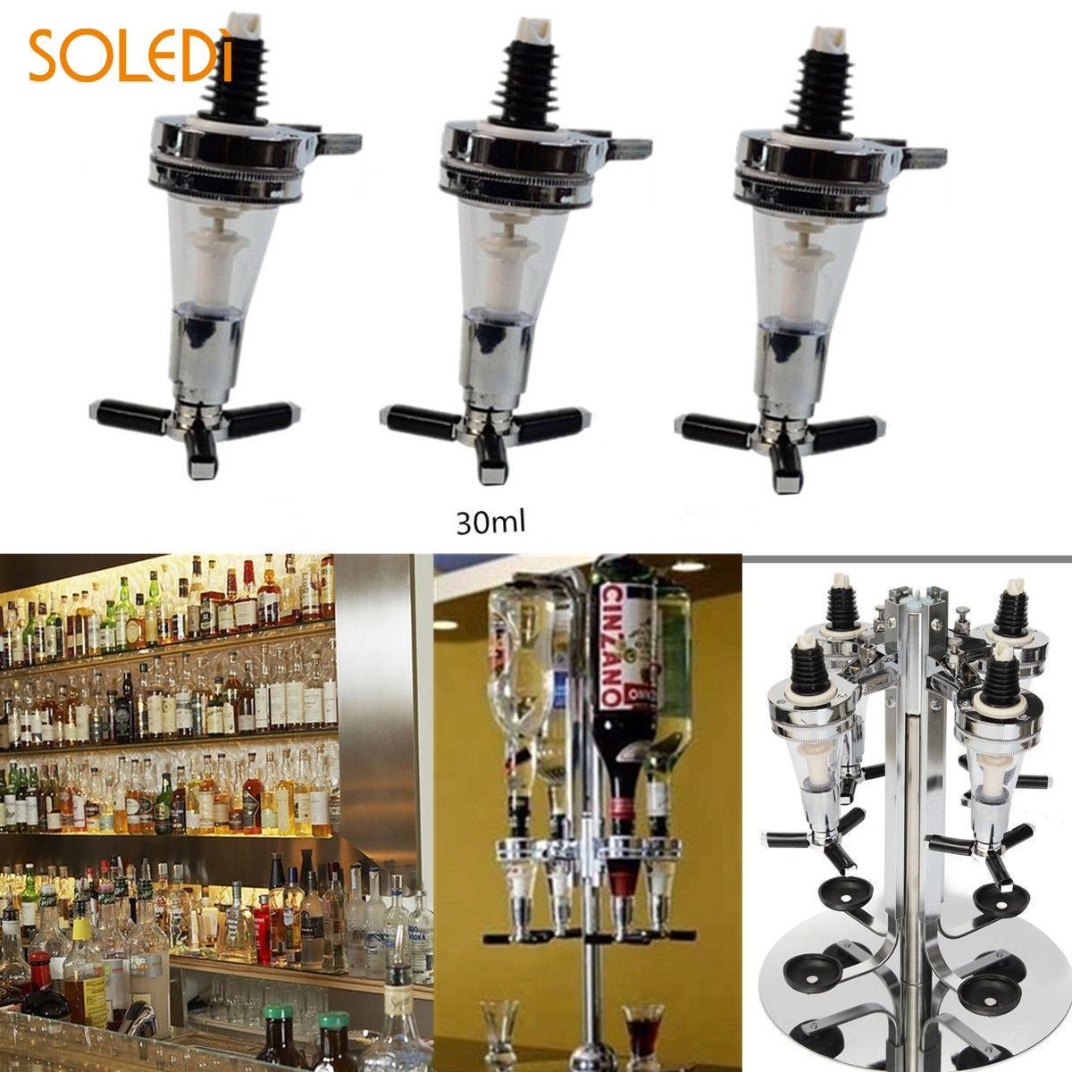 Alcohol Liquor Dispenser Bar Whisky Liquor Oil Wine Bottle Pourer Cap Spout Stopper Mouth Bartender Home Bar Party Accessories