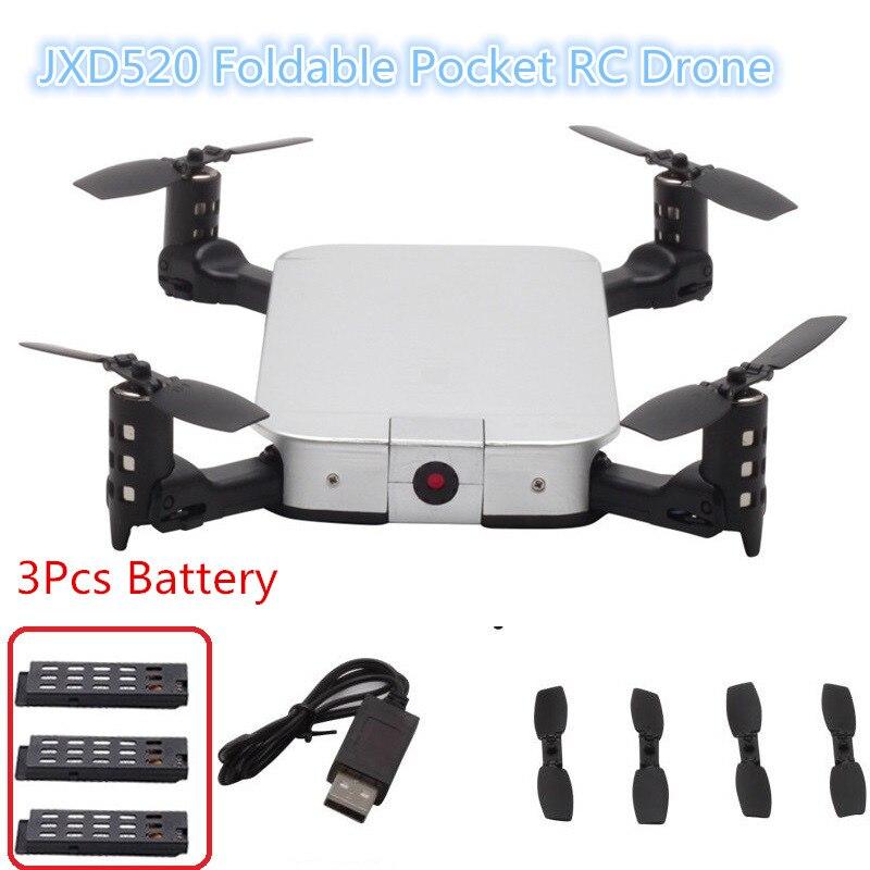 Nuevo cuadricóptero RC MINI Drone plegable con cámara HD 720P posicionamiento de flujo óptico helicóptero Wifi Dron seguimiento automático para regalo de chico