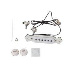 Guitare acoustique Soundhole pick 6 cordes pour boîte à cigares accessoires de pièces de guitare
