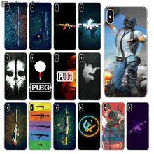 Babaite pubg et csgo Coque Coque téléphone étui pour iphone X XS MAX 6 6S 7 7plus 8 8Plus 5 5S XR pour étui