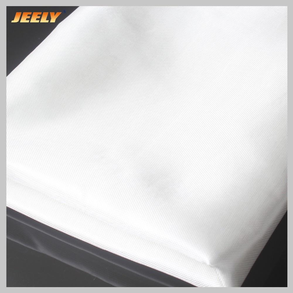 Fibra de Vidrio Resistente a las lágrimas Jeely e-class 55gsm, fibra de vidrio tejida de color liso, trapo reforzado de tela resistente al corte 1,27 m * 1m