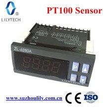 ZL-6280A, 400C, 16A, PT100, sıcaklık kontrol cihazı, PT100 Termostat, dijital termostat yüksek sıcaklık, Lilytech