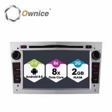 Octa Core 1024X600 GPS pour Opel Vectra C Vivaro Meriva Antara Astra Corsa Zafira   Lecteur DVD de voiture 2 go RAM pour Android 6.0