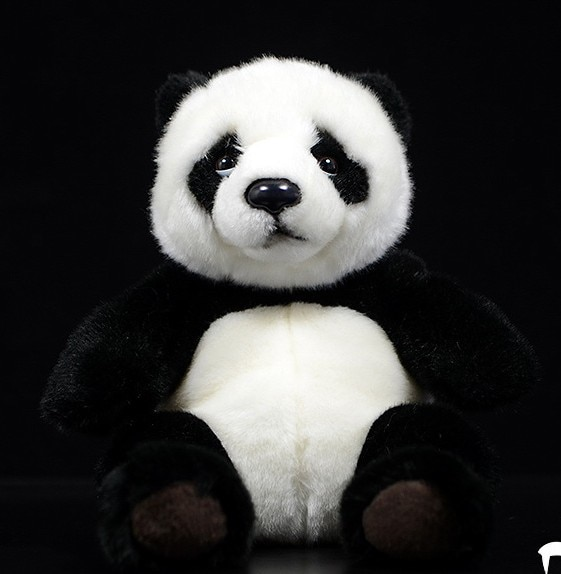 High Quality Simulation 21cm Panda Plush Toys Stuffed Animal Toy Sot cute doll for children birthday gift new 1pcs 18cm cute simulation crab doll animal plush toys little crab doll ragdoll children toy girlfriend gift funny game toys