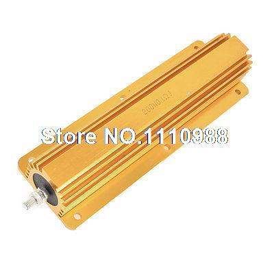 200W Power 0.1 Ohm 5% Aluminum Wirewound Shell Resistor