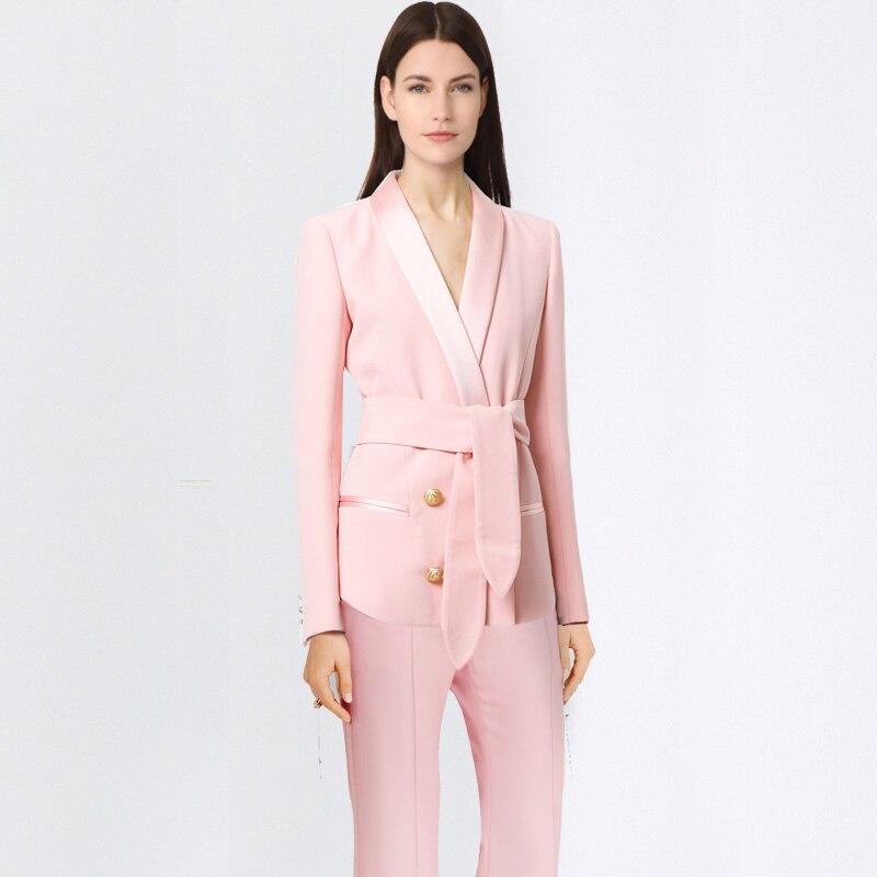 Новые деловые костюмы для женщин, офисные деловые костюмы, комплекты одежды для работы, элегантные Брючные костюмы