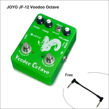 JOYO JF-12 vaudou Octave effet guitare électrique pédale basse Compression dynamique Fuzz ultime distorsion vrai Bypas câble gratuit