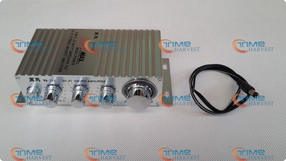 AMPLIFICADOR ESTÉREO HIFI 2,1, placa amplificadora de potencia, accesorios de Arcade para...