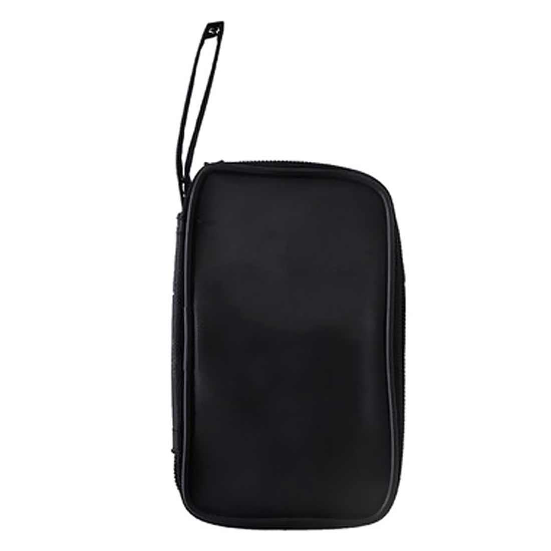 Impermeable carcasa blanda a prueba de golpes 23x14x5cm multímetro negro tela bolsa resistente bolsa de herramientas