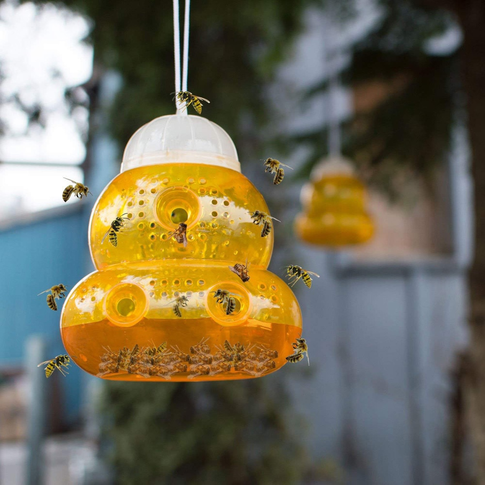 1PCS Pest Control Catcher Killer Hanging Fly Catcher Killer Flies Flytrap Zapper Cage Net Trap Garden Home Yard Supplies 522