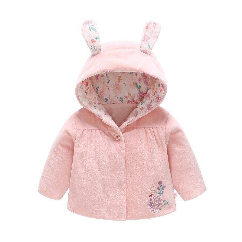 Одежда для маленьких девочек зимняя верхняя одежда новорожденных пальто с
