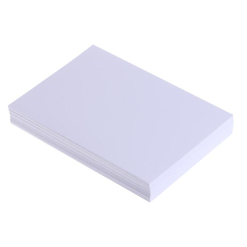 """100 hojas de papel fotográfico brillante 4R 4 """"x 6"""" 200gsm alta calidad para impresoras de inyección de tinta venta al por mayor dropshipping"""