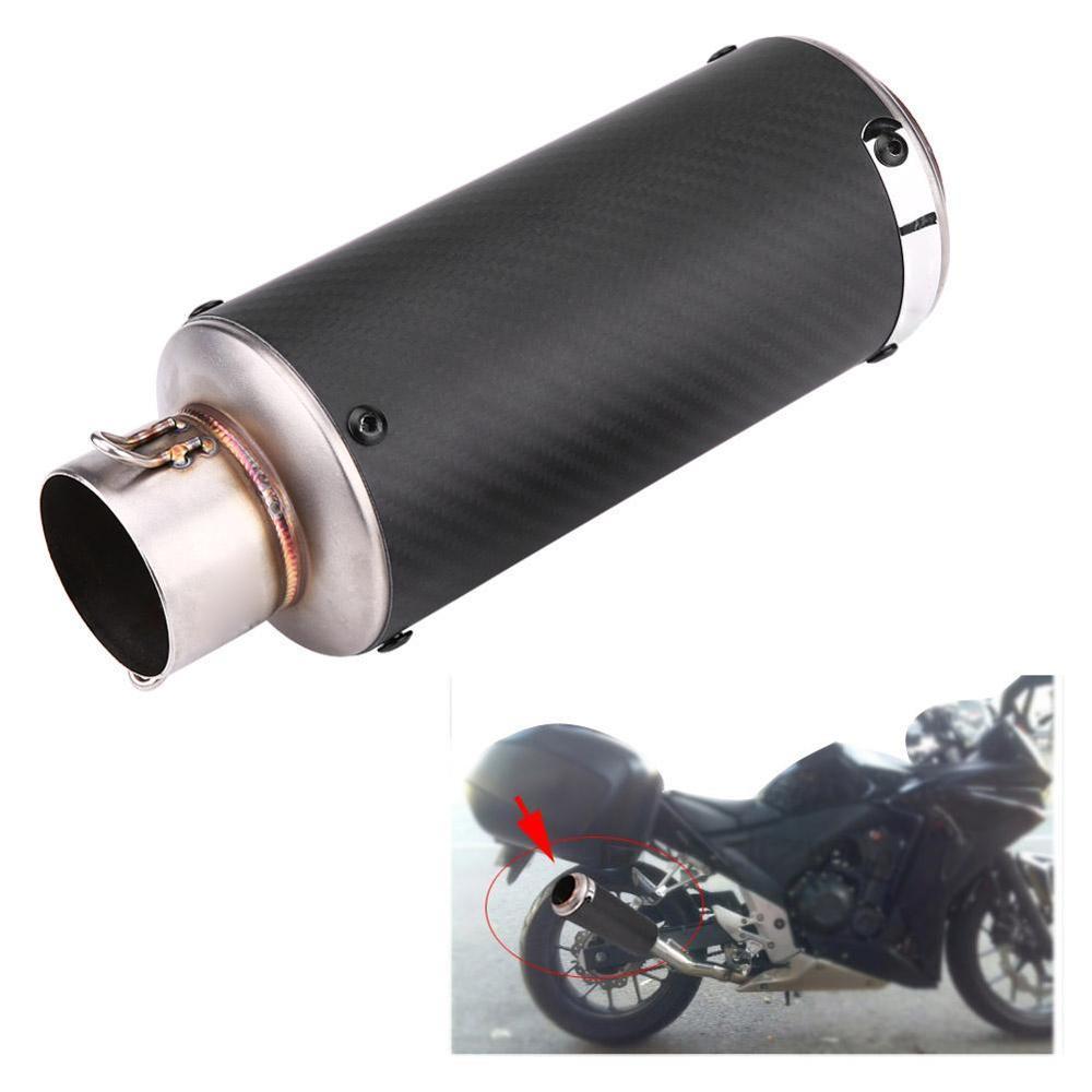 35-51mm Motorcycle Exhaust Pipe Muffler AR Kawasaki, for Honda, for Yamaha, for BMW Universal Carbon Fiber Motorbike Muffler Exh