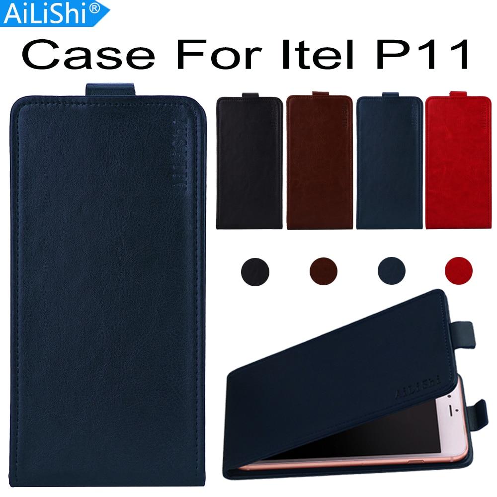 AiLiShi para LED BANCO DE P11 Flip de lujo de alta calidad PU Funda de cuero P11 LED Banco exclusivo 100% piel de la cubierta del teléfono + de seguimiento en Stock