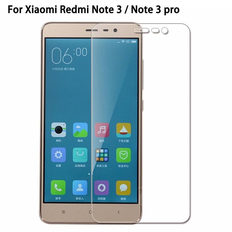 Vidrio Templado 9H para Xiaomi Redmi Note 3 Pro S2 6A 6 Pro Mi8 SE película protectora endurecida para Redmi note 3 5A