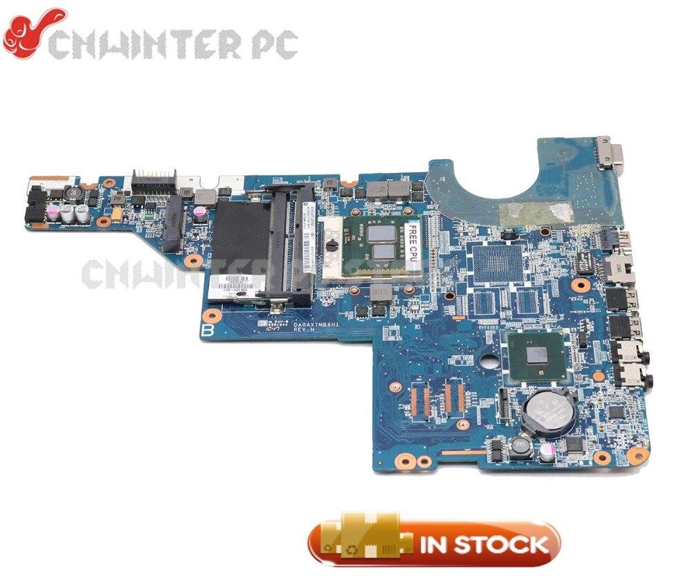 NOKOTION для HP Pavilion CQ42 CQ62 G42 G62 материнская плата для ноутбука HM55 DDR3 595184-001 DA0AX1MB6H1 Бесплатный процессор