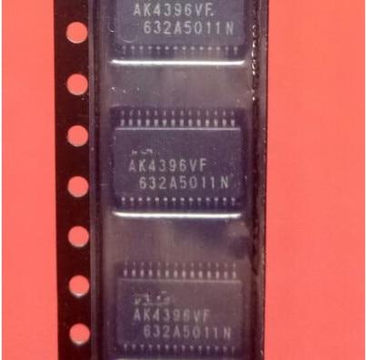 10PCS/LOT   AK4396VF 120dB 24bit  TSSOP28  New original