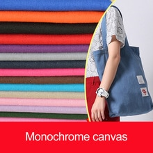Toile de coton pur bricolage   Toile de coton épais, tissu rideau, ensembles de canapé et tissus de lin 50x50 cm