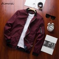DIMUSI Spring New Men's Bomber Zipper Jacket Male Casual Streetwear Hip Hop Slim Fit Pilot Coat Men Clothing Plus Size 4XLTA214
