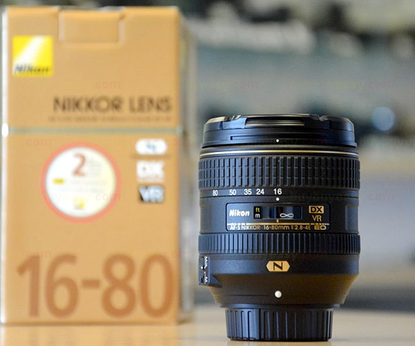 New Nikon AF-S DX Nikkor 16-80mm f/2.8-4E ED VR Zoom Lens
