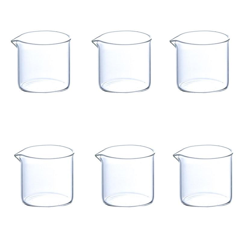 Quail  Heat-Resistant Glass Milk jug, Honey Cup, Sauce Cup, Coffee Cream Cup