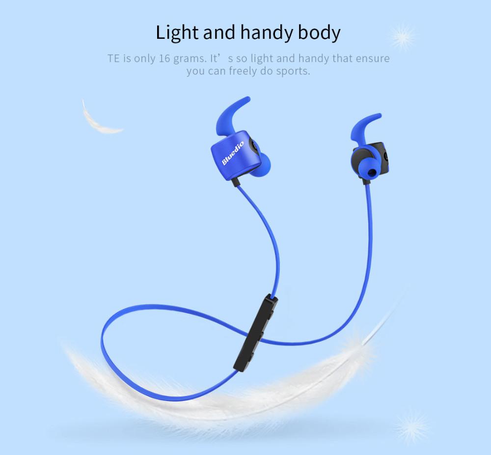 Te bluedio sport zestaw słuchawkowy bluetooth/pot dowód słuchawki bezprzewodowe słuchawki douszne earbuds wbudowany mikrofon 8