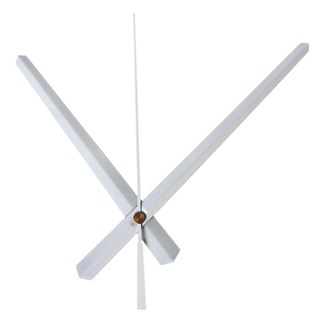 Homingdeco DIY Wall Clock Accessories Metal Pointer Second Hand Minute Hand Hour Hand Set Needles Clocks Home Decor - White