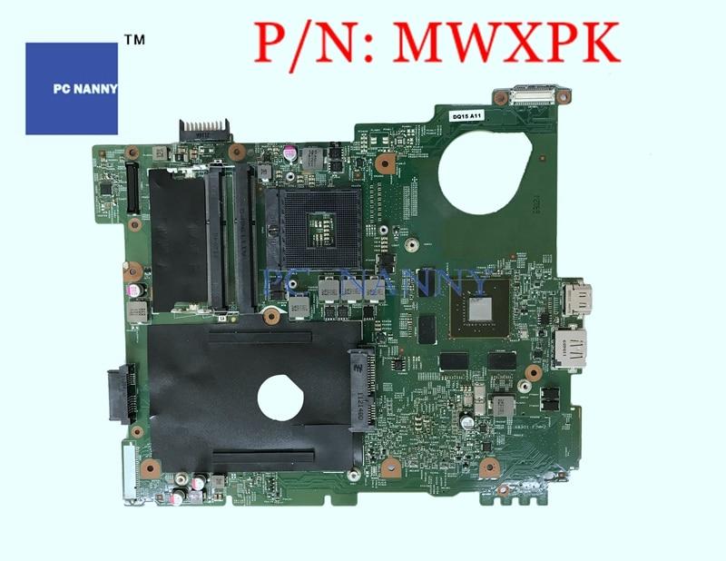NOKOTION 0 MWXPK Dell para Inspiron 15R N5110 Motherboard Principal Placa NVIDIA Geforce 1 GB DDR3 HM67 Testado