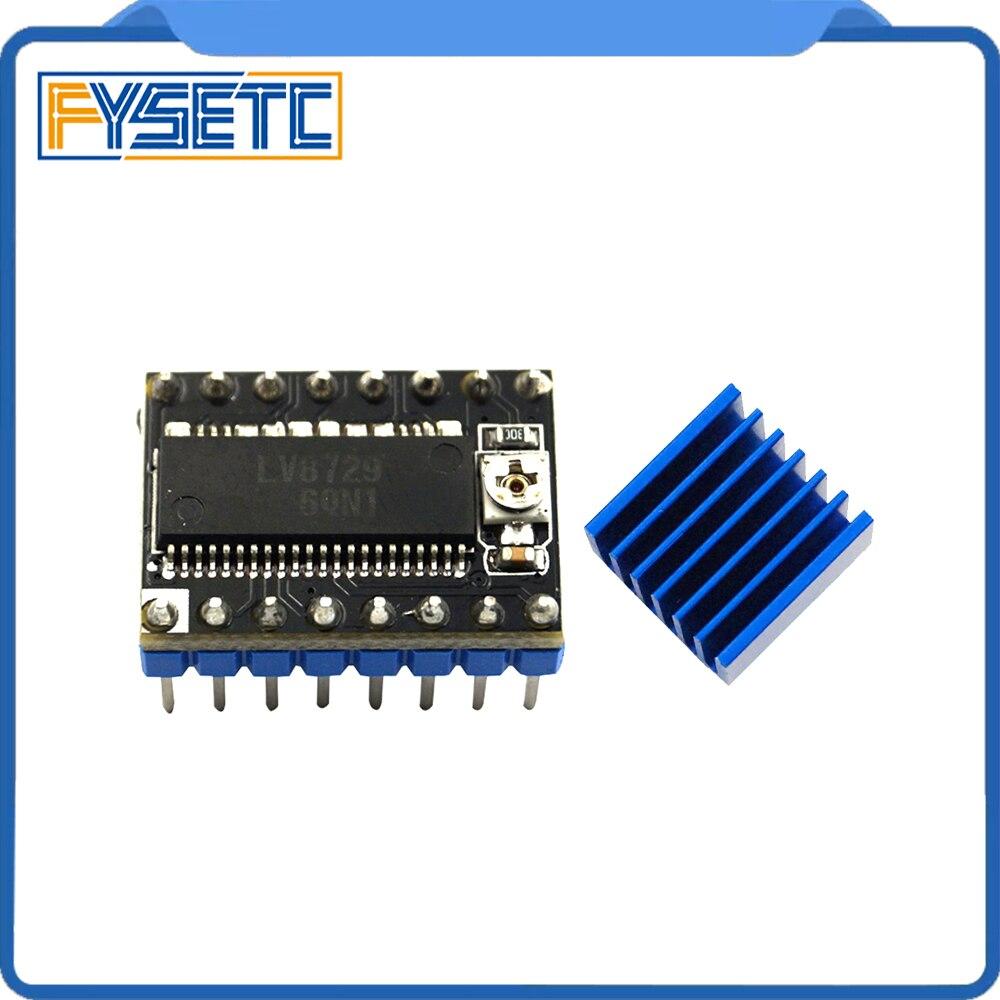 1 unidad de piezas de impresora 3D LV8729 controlador de Motor paso a paso Módulo de Controlador Ultra silencioso PCB de 4 capas Compatible con Lerdge
