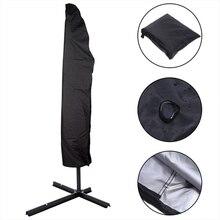 Parasol Umbrella Cover Waterproof Dustproof Cantilever Outdoor Garden Patio Umbrella Shield FK88