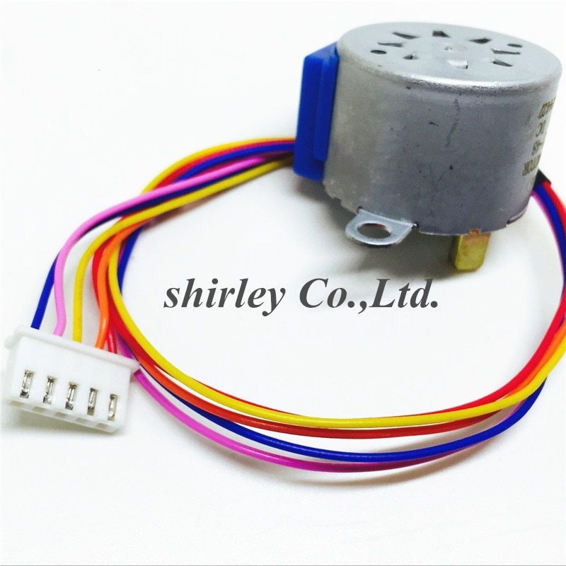 Freies shiiping 10PCS 28BYJ-48 DC 12V Reduktion Schritt Getriebe Schrittmotor 4 Phase 28BYJ 28BYJ48 für arduino DIY kit