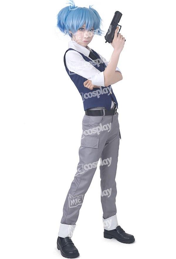 Anime Assassination Classroom Nagisa Shiota del traje de Cosplay vestuario para fiesta de Halloween