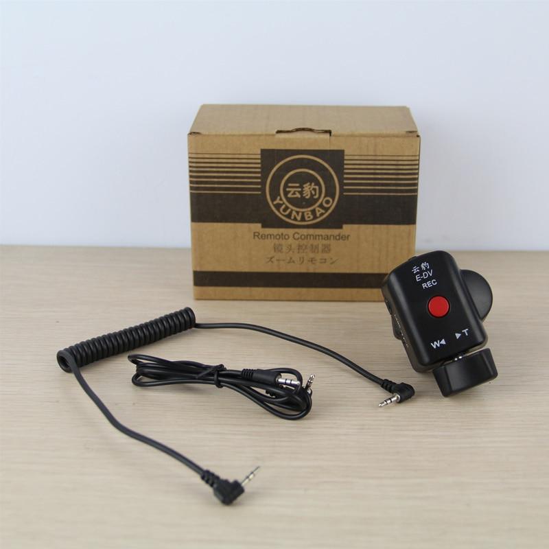 suitable for Sony Canon Panasonic lanc remote zoom