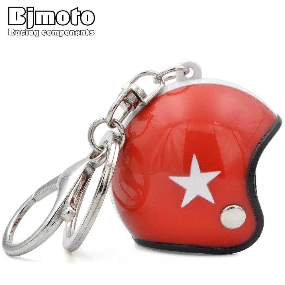 BJMOTO модный автомобильный мотоциклетный шлем, брелок для ключей, мини мотоциклетный Брелок с подвеской, мужские аксессуары для двигателя