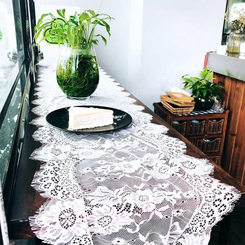 Аксессуары для дома, портативный обеденный стол, белая кружевная лента для стула, для банкета, свадьбы, вечеринки, 30*360 см