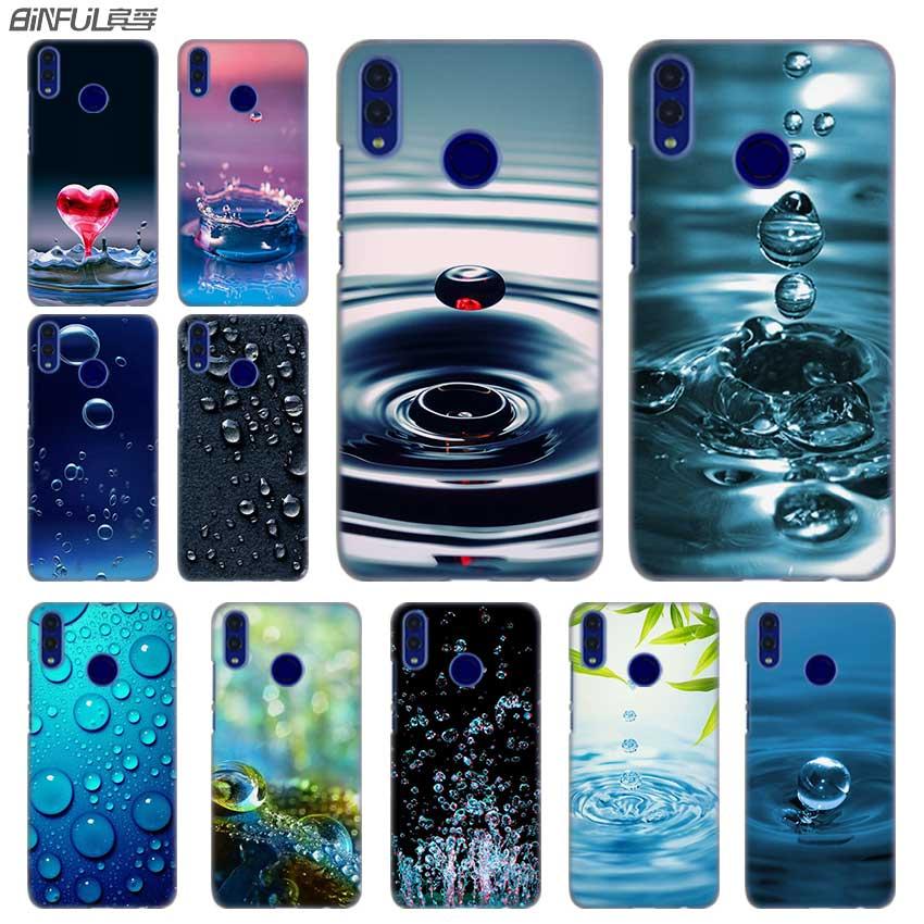 Fashion luxury Phone cose cover for Huawei Honor 10i 8 8X 9X 10 Lite 4C 5X 6 6X 6C 30 20 Pro 7X Water drop Pattern