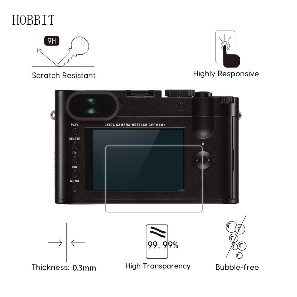 2 paquetes para Leica Q Typ 116 TYP116 cámara Digital 0,3mm 9H claro Protector de pantalla de vidrio templado camerea LCD película de vidrio
