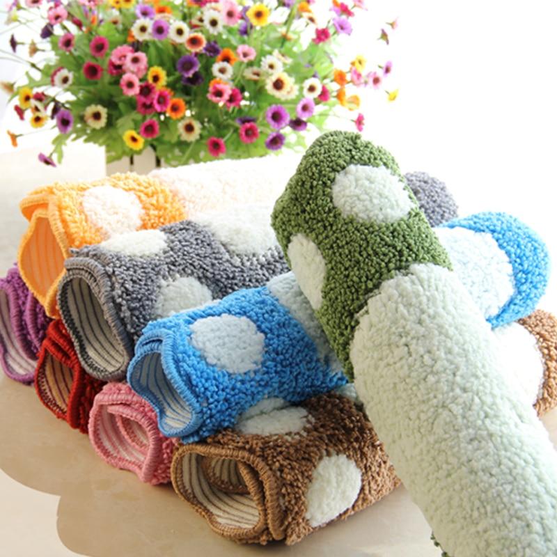 Foot Print Bath Mats,Non-slip Bathroom Carpet,Mat Toilet Tapete Para Banheiro,Bathroom Rug Bath Pad Carpets,Microfiber Mini Mats enlarge