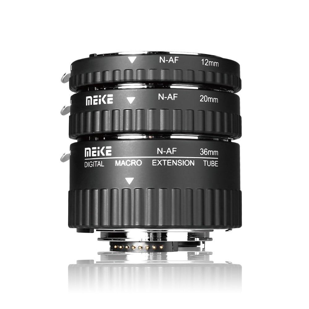 Meike MK-N-AF-A макрокольцо с автофокусом для Nikon D90 D3000 D3100 D3200 D5000 D5100 D5200 D7000 D7100 DSLR камеры