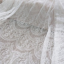 3M verano francés pestañas explosión arco malla vestido de boda personal encaje tela Mori fairy cloth DIY RS1237