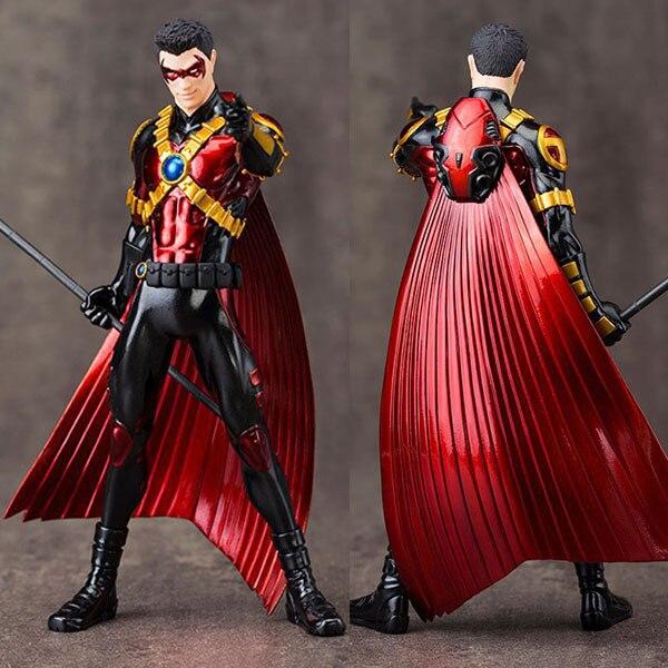 18 ARTFX + DC Direct Batman superhéroe Superman Red Robin Liga de la justicia 1/10 colección de PVC película Anime modelo juguete electrónico para mascotas