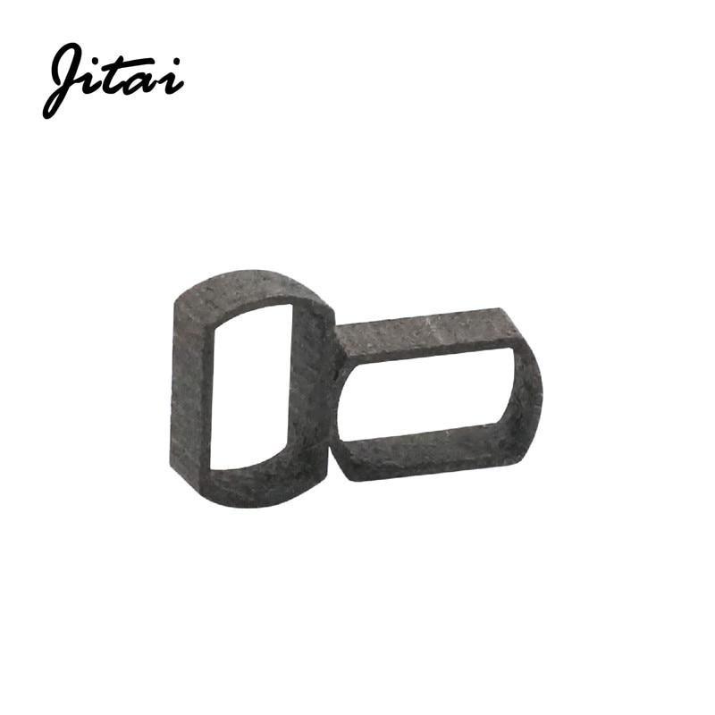 JITAI pesca manija de carretes de agujero de instalación adaptador carrete para baitcasting manejar adaptador de marco de Metal de 7*4mm Daiwa Abu carrete