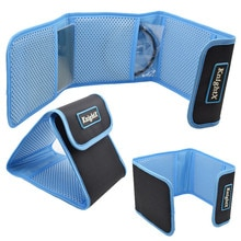 KnightX Camera ster UV CPL FLD ND KLEUR Filter Wallet Lens Adapter Ring Opbergtas Case Pouch Houder 49 52 55 58 62 67 77 82mm