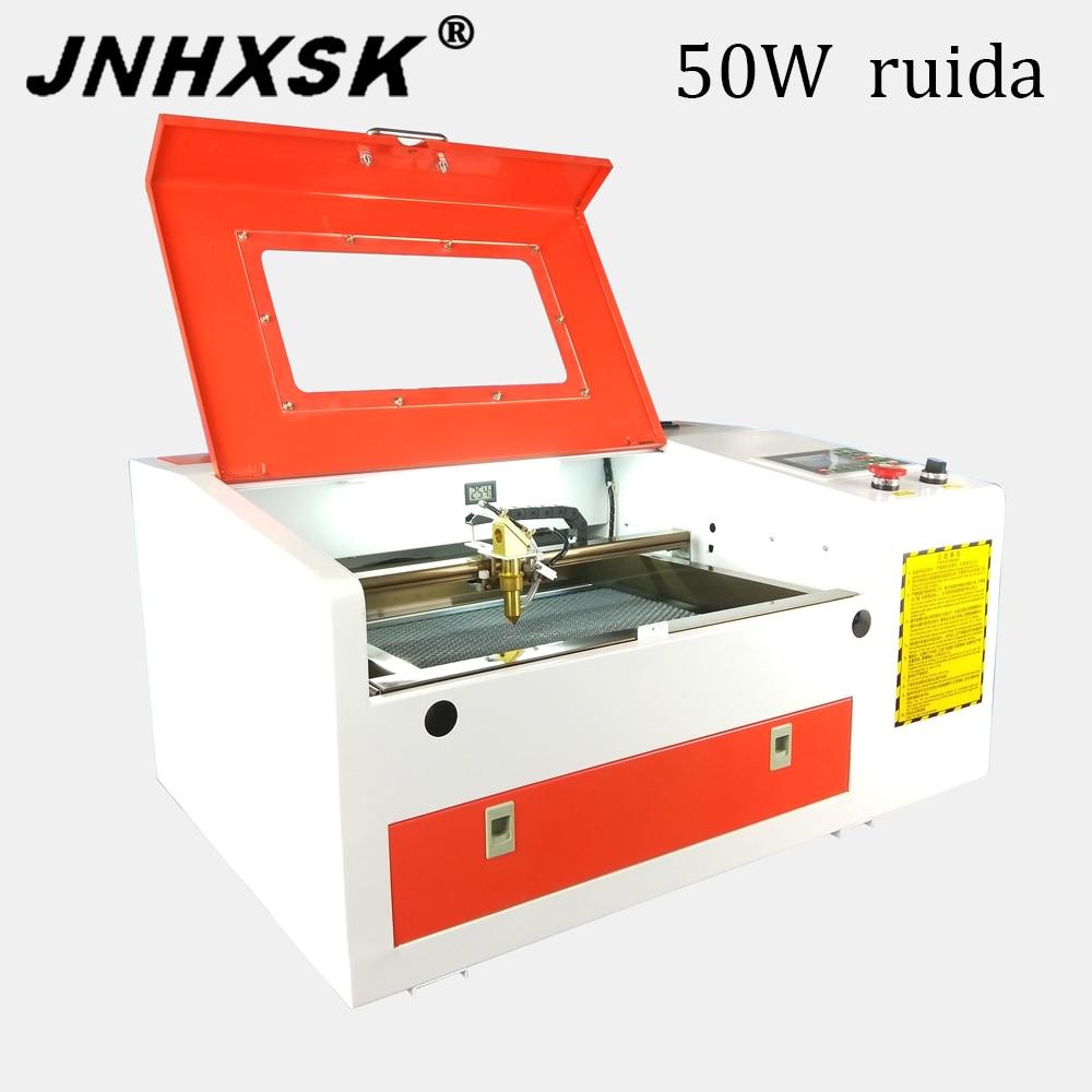 TS4030 50W Ruida sistema de control co2 CNC grabado láser máquina de corte láser máquina de marcado láser mini cnc grabador láser